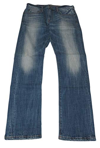 American Eagle Outfitters Mens Slim Fit Denim Blue Jeans, 31 x 32