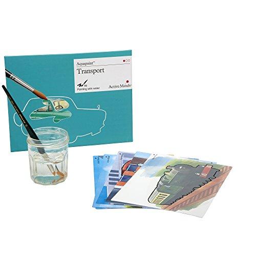 Transporte Aquapaint: Pintura de Agua Reutilizable / Actividad artística para Personas ancianas con Demencia / Alzheimer's