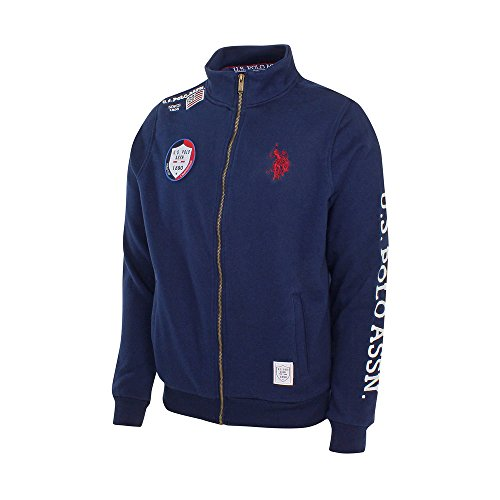 U.S. Polo ASSN Sweatjacke Full Zip Marine - XXL