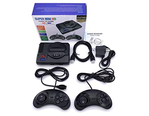 Classic Sega Video Games Console Retro TV Super Mini MD Game Player Handheld Game Machine with 16 Bit 691 HDMI Games Sega Consola for Kids, Children Teens Gift
