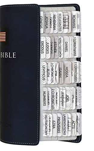 Bible Tabs for Women and Men, Bible Index Tabs for Journaling Bible, Bible Book Tabs Laminated with a Matte Finish, 96 Bible Labels for Old and New Testament, Includes Catholic Bible Tabs