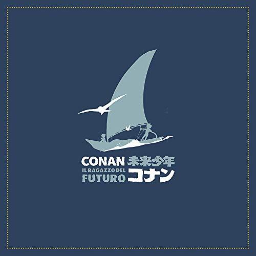 Conan, Il Ragazzo Del Futuro - Ultimate Edition Box (7 Blu-Ray+2 LP+Art Book+Paper Toy+Card Set+Poster) [Esclusiva Amazon.it]