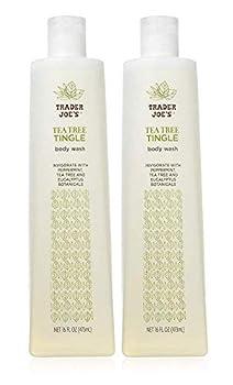 Trader Joe s Tea Tree Tingle Body Wash - Cruelty Free 16 oz  Pack Of 2
