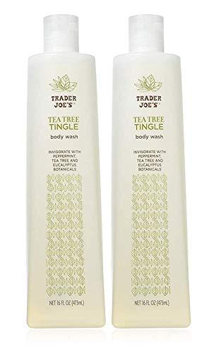 Trader Joe's Tea Tree Tingle Body Wash - Cruelty Free 16 oz, (Pack Of 2)