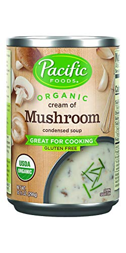 Pacific Foods Organic Cream of Mushroom Condensed Soup, 10.5oz, 12pk, 12 Count