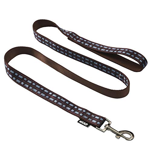Star Wars Chewbacca 6 Foot (72 Inch) Dog Leash for All Dogs   Cute Dog Leash Easily Attaches to Any Dog Collar or Harness   Officially Licensed Star Wars 6 Ft Dog Leash