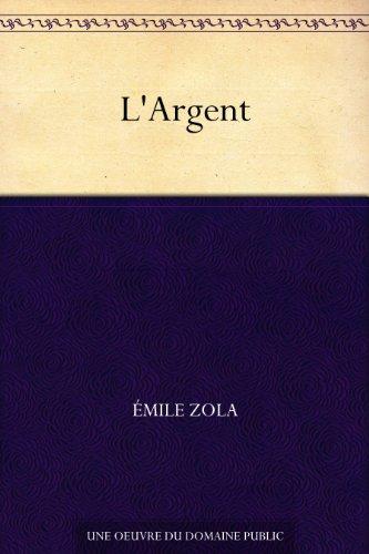 Couverture du livre L'Argent