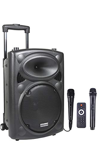 DYNASONIC - Dynapro - Altavoz Inalámbrico Sistema Audio Profesional...