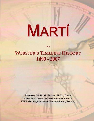 Mart¿: Webster's Timeline History, 1490 - 2007