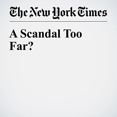 A Scandal Too Far? cover art