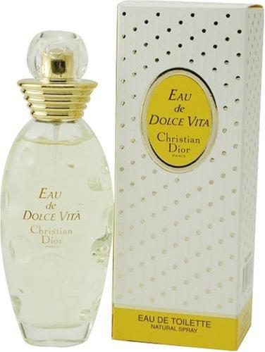 Eau De Dolce Vita by Christian Dior For Women. Eau De Toilette Spray 3.4-Ounces by Christian Dior