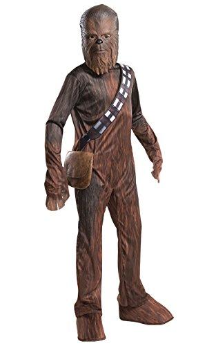 Rubies Disfraz oficial de Disney Star Wars Chewbacca, para niños, tamaño mediano