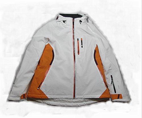 White Season Skijacke Damen - Größe 44 - Farbe : weiß/orange