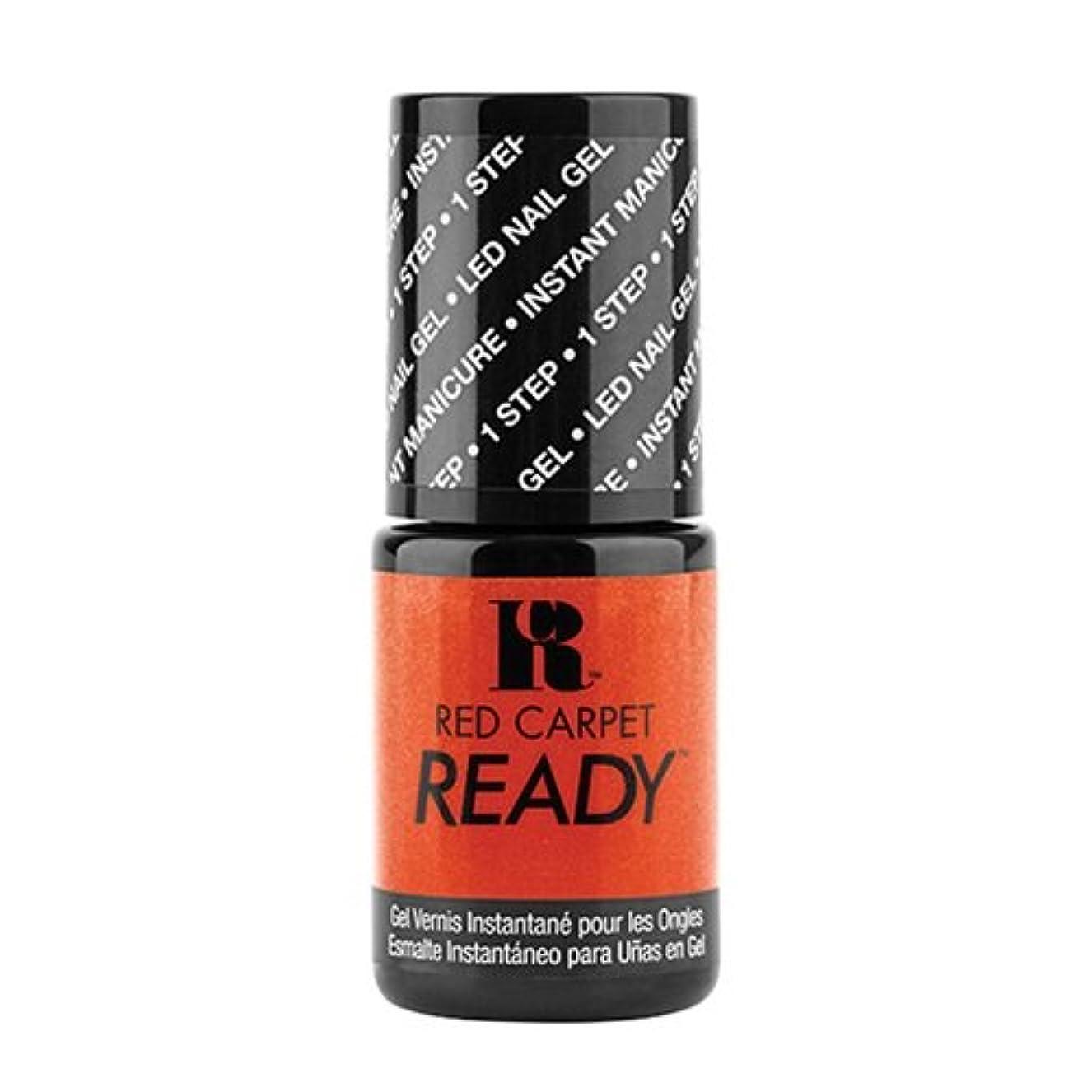 ブロンズ仕出します紛争Red Carpet Manicure - One Step LED Gel Polish - Sizzle Reel - 0.17oz / 5ml