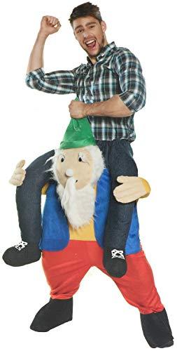 """COM-FOUR® kostium """"Zabawny krasnolud"""" dla doroslych, idealny na Mardi Gras, karnawal, Halloween lub wieczór panienski (01 kawalek - kostium""""krasnolud"""")"""