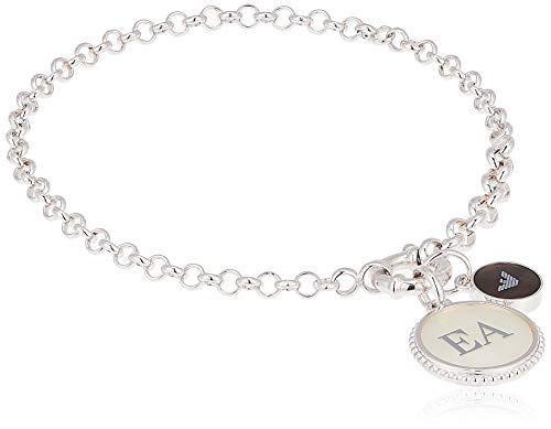 Emporio Armani Damen-Kettenarmband 925 Sterlingsilber Perlmutt EG3357040
