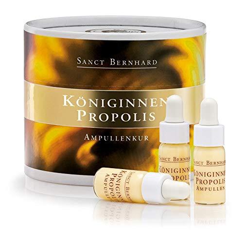 Sanct Bernhard Königinnen Propolis Ampullen mit Gelee-Royal, Propolis, Hyaluronsäure, AloeVera 28 ml