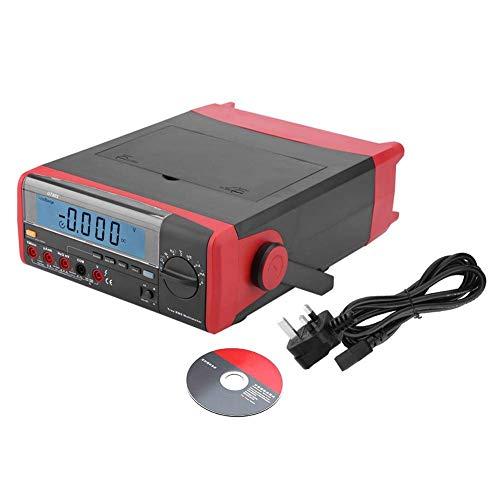 ZJN-JN Multímetro digital, 5999 Condes pantalla LCD Meter Industrial Test Kit for mantenimiento eléctrico de AC/DC voltaje, corriente, el condensador, resistencia (Reino Unido) Pruebas eléctricas co