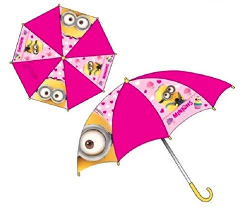 Minions Kinder-Regenschirm für Mädchen