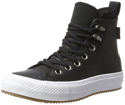 Converse - 557943c, Sneakers alte Donna, Nero/Bianco, 42 EU