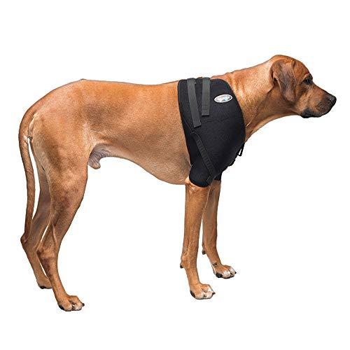 Caldera Pet Therapy Shoulder Wrap with Gel, Large, Black