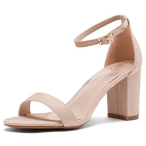 Zapatos Tacon Nude  marca Shoe Land