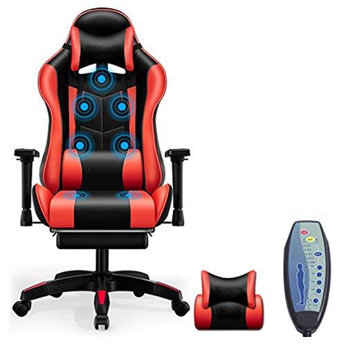 N&O Renovierungshaus Computerstuhl Gaming Stuhl Game Chair Boss Chair Home Bequemes Internet Cafe Heben Liegender Ankersitz Stuhl Pink