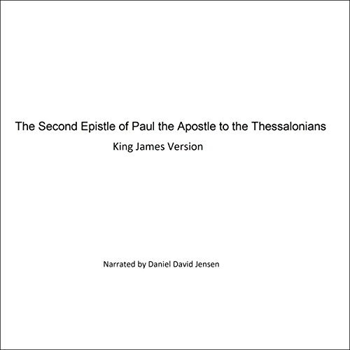 The Second Epistle of Paul the Apostle to the Thessalonians audiobook cover art