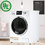 BestAppliance Washer Dryer Combo Combination Washing Machine Turbo Wash 2.7Cubic. ft. Capacity Compact Laundry...