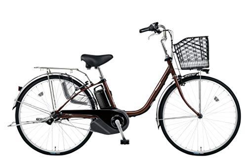 Panasonic(パナソニック) 2020年モデル ビビ・SX 26インチ カラー:チョコブラウン BE-ELSX632-T 電動アシスト自転車 専用充電器付