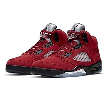 Jordan Mens Air Jordan 5 Retro DD0587 600 Raging Bull 2021  Numeric_10  Red