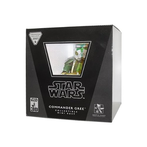 Gentle Giant Star Wars Mini Busts Commander Gree Exclusive Mini Bust image