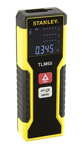 Stanley laserafstandsmeter TLM65 (20 m bereik, bediening met één knop, automatische uitschakeling) STHT1-77032