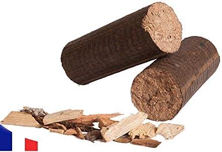 Briquetas de Madera 100% Dura - 20 kg
