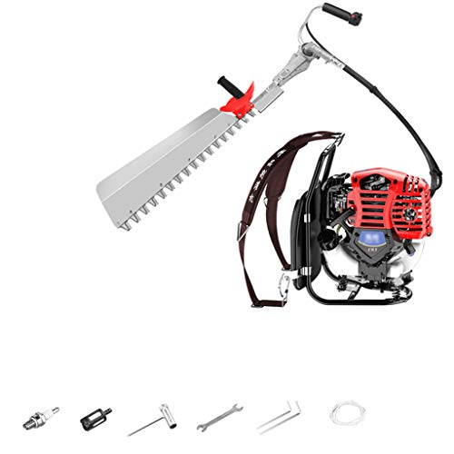 Lowest Price! wangzi Electric Hedge Telescopic Extendable Pole 75cm Cutting Hedge Trimmer Gasoline B...