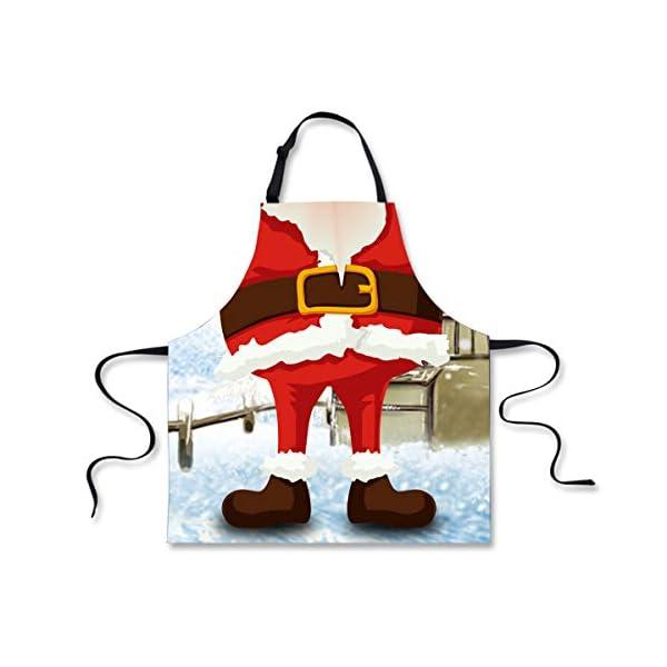 POLERO Christmas Apron - Santa body