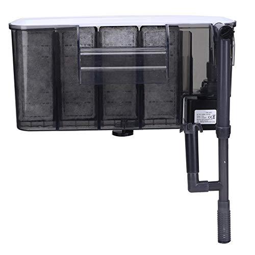 Filter voor het ophangen van aquarium, waterfilter, wandluchtpomp, 3-in-1, filter voor aquarium, UE