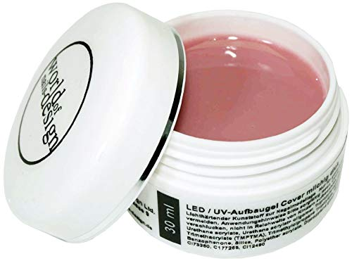 World of Nails-Design BasicLine UV-Gel Aufbaugel cover light rosé milchig 30 ml, Babyboomer Look