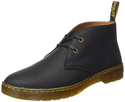Dr. Martens Men's Cabrillo Chukka Boot, Black Wyoming, 11