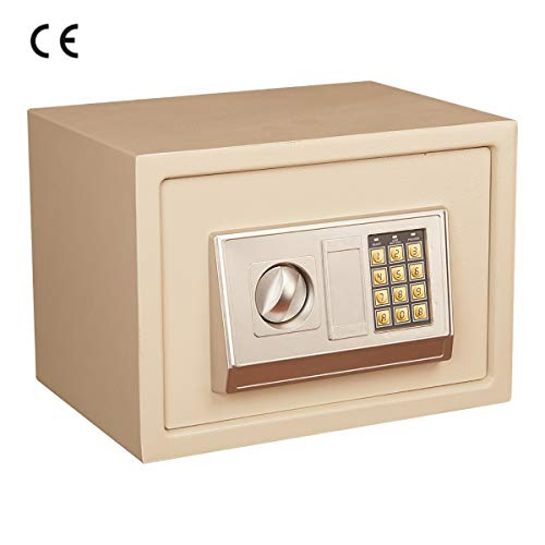 MIAOBX 40.0 Cm * 30.0 Cm * 30.0 Cm Safe - Persoonlijk Behoort veiligheidskast - Twee Openingsmethoden - Automatisch Alarmsysteem - Vaste Wandverzekering