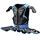 Kids Motorcycle Armor Suit Protective Gear Chest Spine Back Protector Shoulder Arm Elbow Knee Protector Pads for Motocross Racing Skiing ICE Skating Bike Cycling