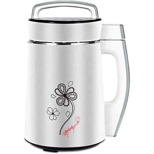 TWDYC Soymilk machineEasy-Clean Automatische Hot Soja-Milch-Maschine mit Kapazität, Komplett aus Edelstahl