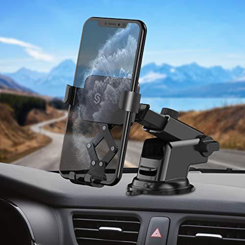 Syncwire Handyhalter Auto Handyhalterung KFZ - 360 Grad Drehung 4,7-6,5 Zoll Handy Saugnapf Halter Smartphone Halterung Car Handyhalterungen Autohalterung Holder für iPhone Samsung Huawei mehr Phones