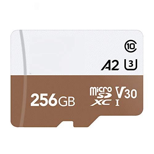 Tarjeta TF Tarjeta de Memoria de 4K Tarjeta Micro SD SDXC UHS-I A2 U3 100 MB/S Micro SD Card Full HD 3D de vídeo Flash Micro SD para Gopro
