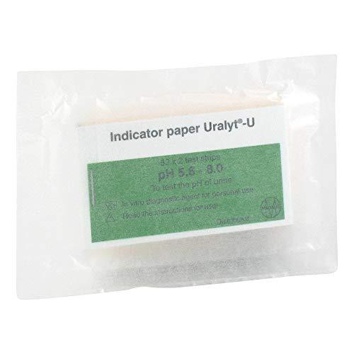 URALYT-U Indikatorpapier 104 St Teststreifen