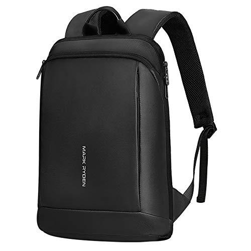 MS MARK RYDEN Laptop-Rucksack, ultradünner 15,6-Zoll-Business-Rucksack, hochwertig, wasserdicht, für Herren und Damen