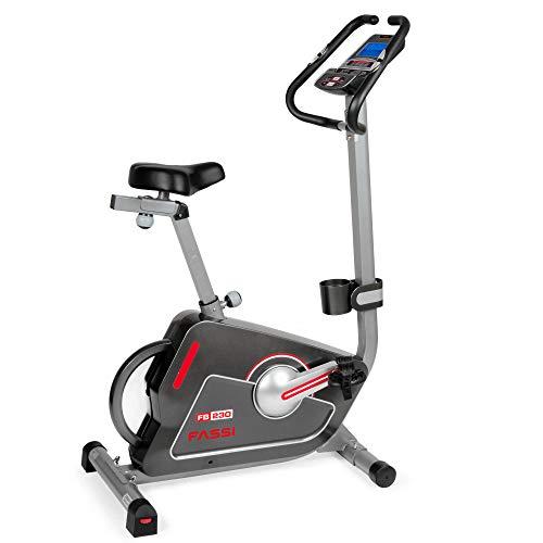 Fassi FB 200 Cyclette Elettromagnetica con 15 Programmi di Allenamento