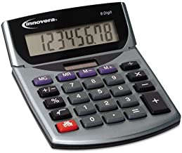 $23 » (3 Pack Value Bundle) IVR15925 15925 Portable Minidesk Calculator, 8-Digit LCD