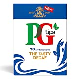 PG Tips Pyramid Tea Bags Decaf 70-Count Tea Bags Pack of 3