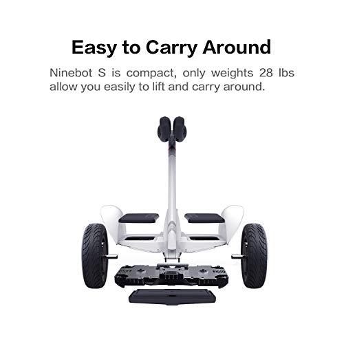 Segway Ninebot S Smart Self-Balancing Electric Transporter, White